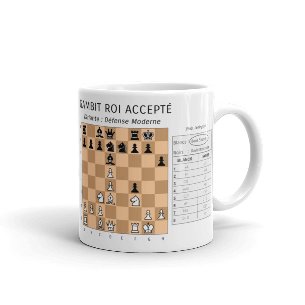 mug echecs ouverture gambit roi boris spassky
