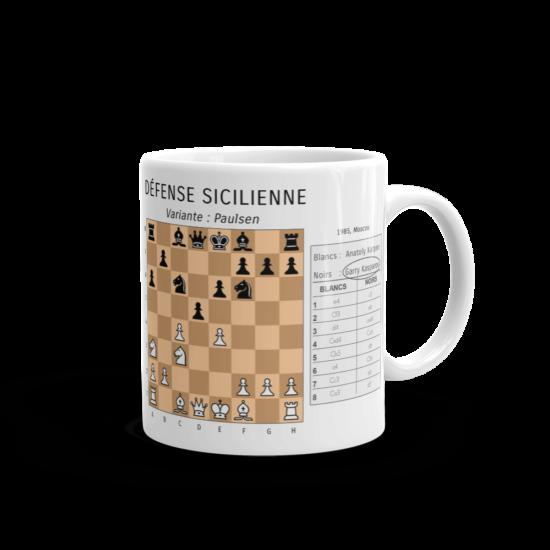 Mugs ouvertures d'échecs