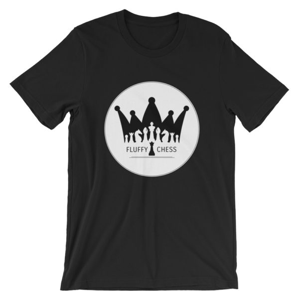 T-shirt echecs design unique Marque FluffyChess