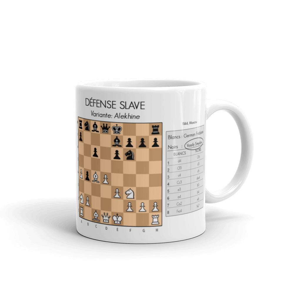 mug echecs ouverture défense slave vassily smyslov