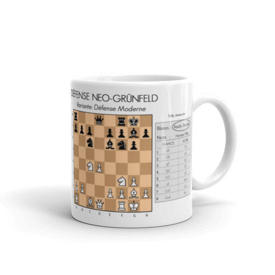 mug echecs ouverture défense grunfeld vassily smyslov