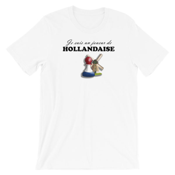 t-shirt ouverture échecs défense hollandaise